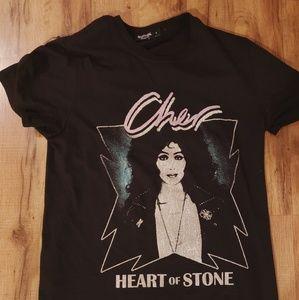 Cher Heart of Stone Retro T-Shirt